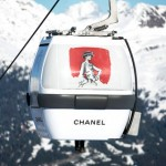 La pop up store de Chanel en la estación de ski de Courchevel